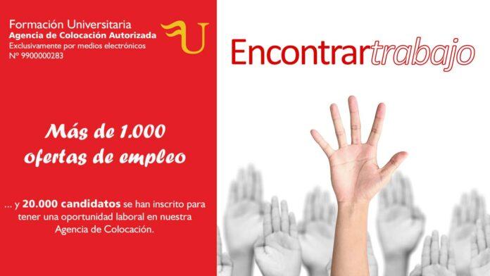 1000 Ofertas Encontrar Trabajo