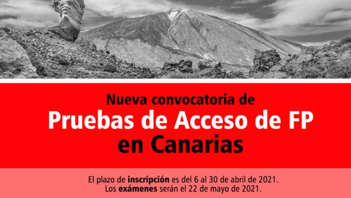 Acceso FP Canarias 2021