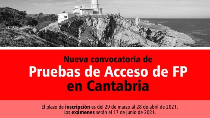 Acceso FP Cantabria 2021