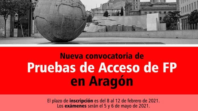 Acceso FP Aragón 2021