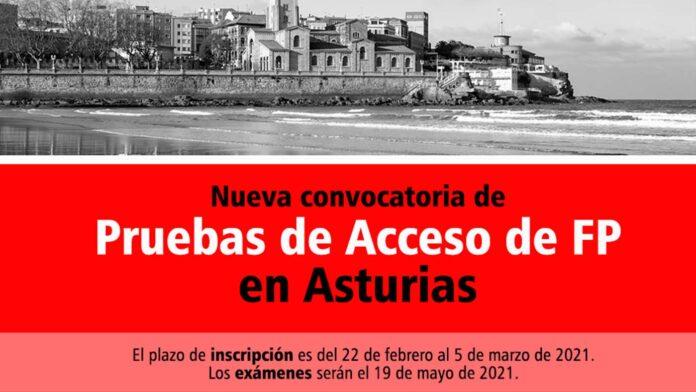 Acceso FP Asturias 2021