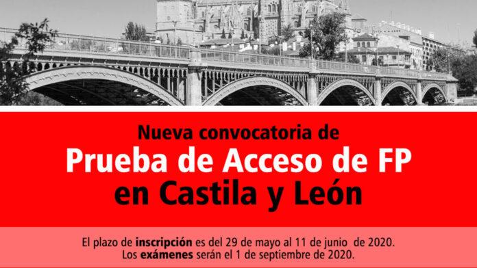 Acceso FP Castilla y León 2020