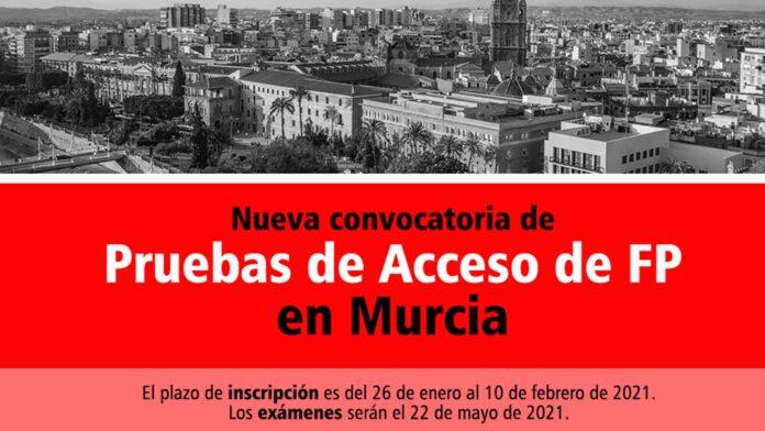 Acceso FP Murcia 2021