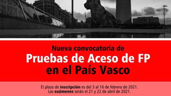 Acceso FP País Vasco 2021