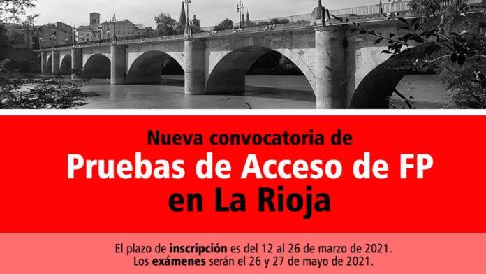 Acceso FP La Rioja 2021