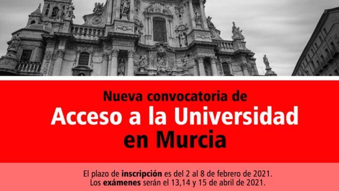 Universidad Murcia 2021
