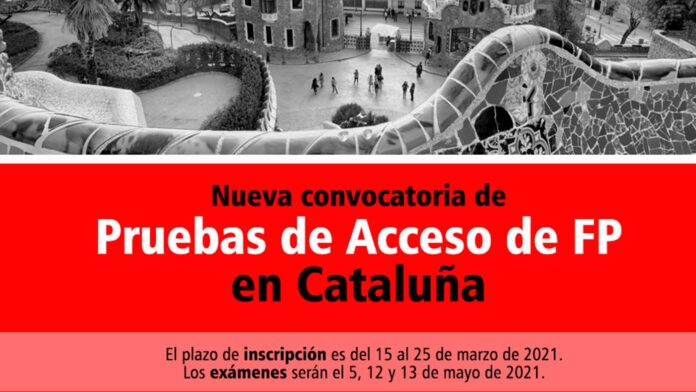 Acceso FP Cataluña 2021