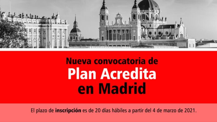 Plan Acredita Madrid