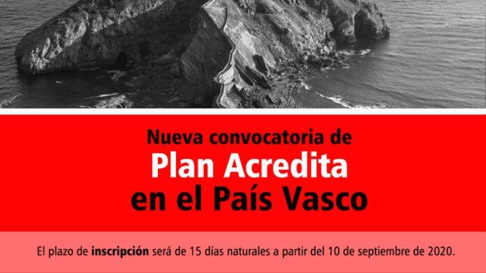 Plan Acredita País Vasco 2020
