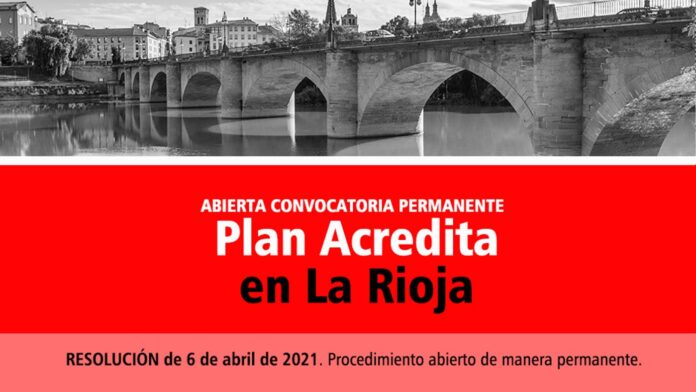 Acredita permanente La Rioja