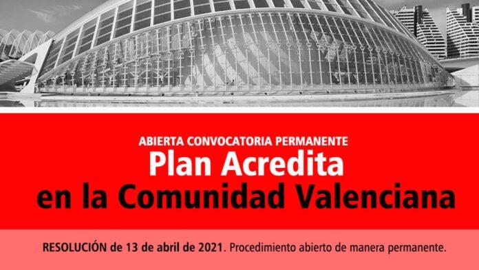 Acredita permanente Comunidad Valenciana