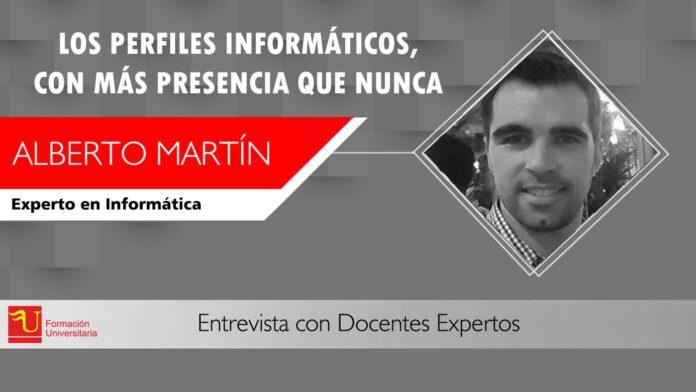 Alberto Martin docente