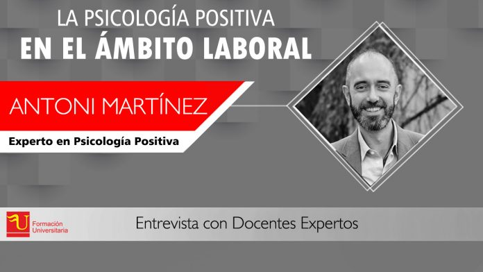 Antoni Martinez entrevista Formación Universitaria