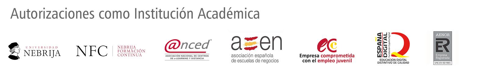 Autorizaciones Formación Universitaria