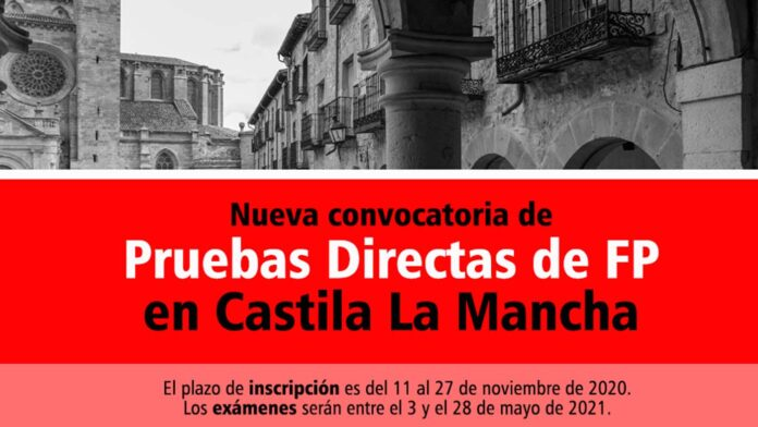 Prueba Directa Castilla La Mancha FP