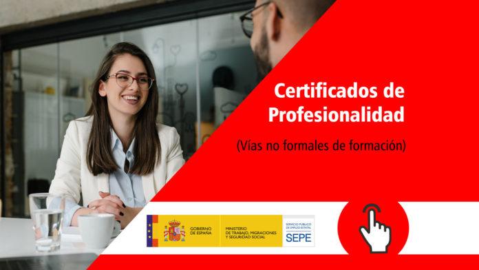 Certificados de Profesionalidad. Formación Universitaria