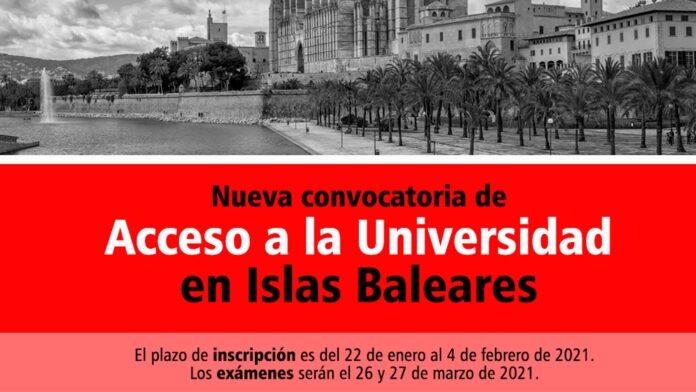 Universidad Baleares 2021
