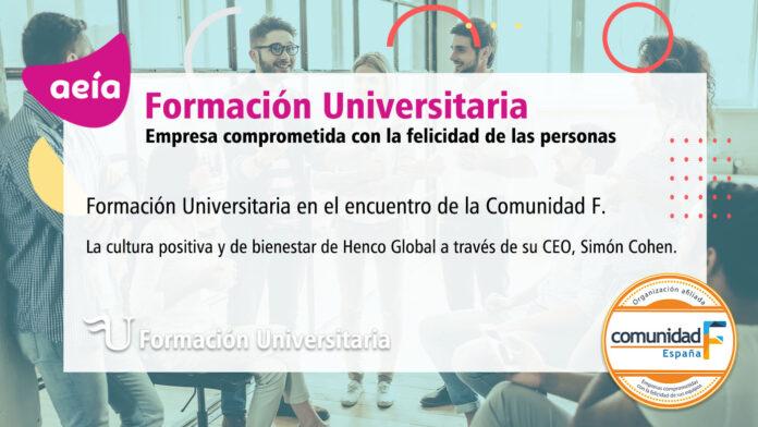 Formación Universitaria y la Comunidad de la Felicidad