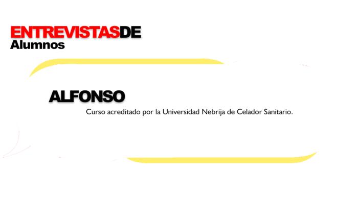 Entrevista alumno de Formación Universitaria del curso acreditado por la Universidad Nebrija Celador Sanitario