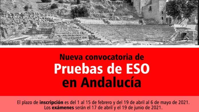 Pruebas ESO Andalucía 2021