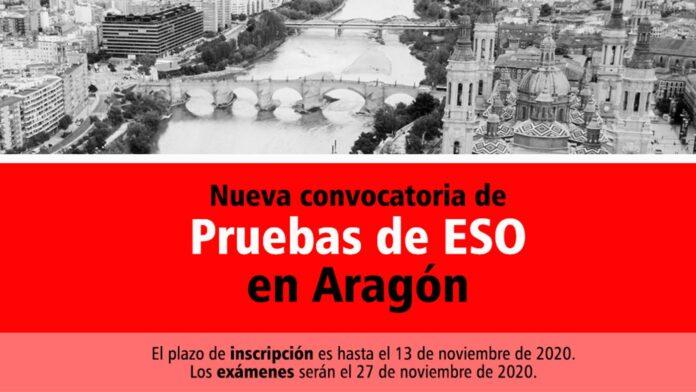 Pruebas ESO Aragón 2020