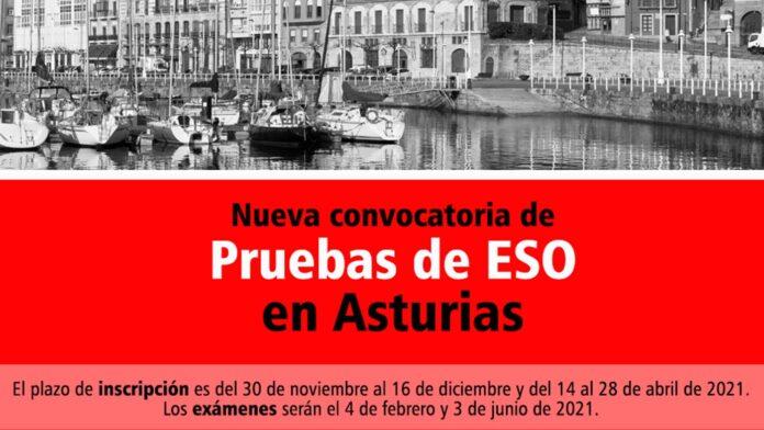 Convocatoria ESO Asturias 2021
