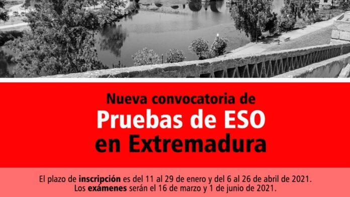 Convocatoria ESO Extremadura 2021