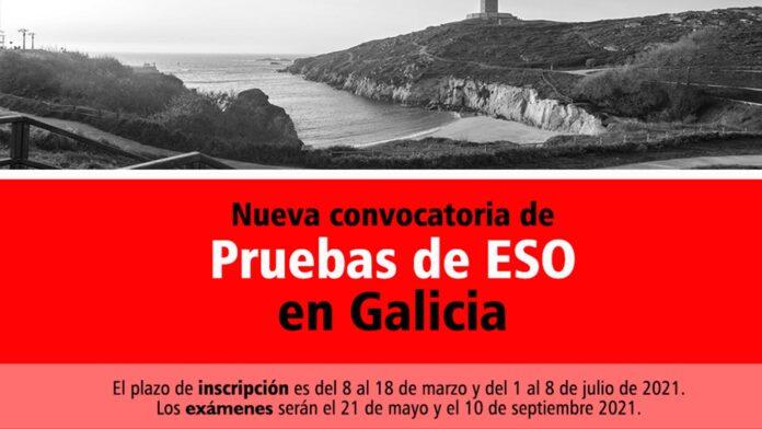 Convocatoria ESO Galicia 2021