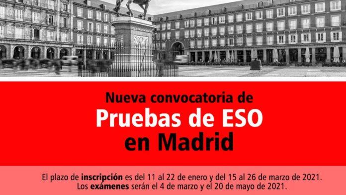 Pruebas ESO Madrid 2021