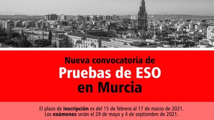 Convocatoria ESO Murcia 2021