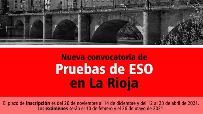 Pruebas ESO La Rioja 2021