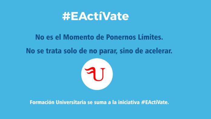 Formación Universitaria se suma a la iniciativa EActiVate