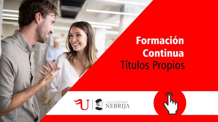 Formación Continua Nebrija. Imparte Formación Universitaria