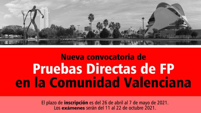 Prueba Directa Comunidad Valenciana FP
