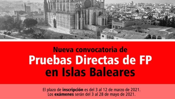 Prueba Directa Islas Baleares FP