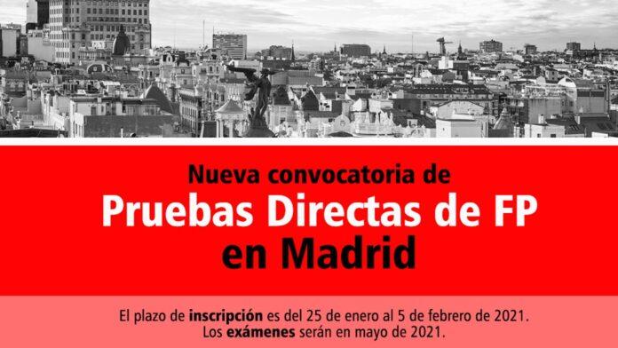 Prueba Directa Madrid FP