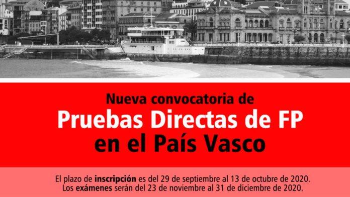 Pruebas Directas FP País Vasco