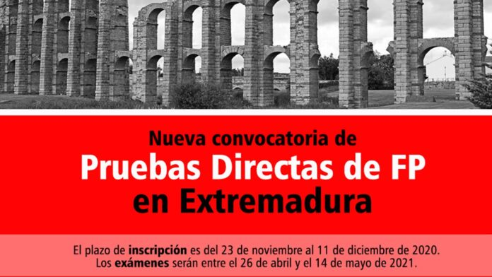 Prueba Directa Extremadura FP