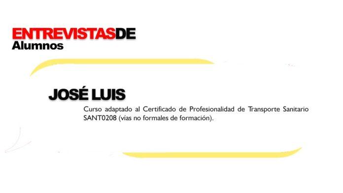 Entrevista alumnos Formación Universitaria José Luis