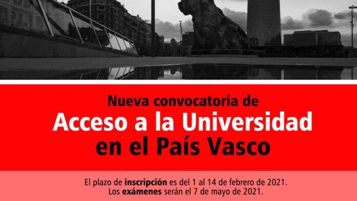 Universidad País Vasco 2021