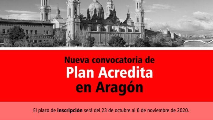 Plan acredita Aragón 2020