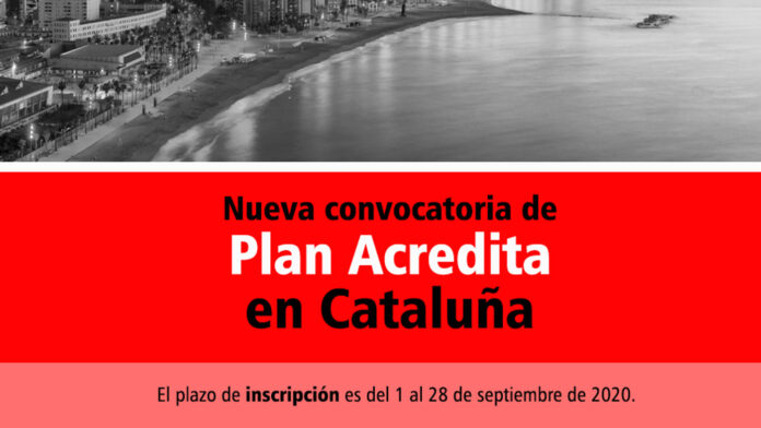 Plan Acredita Cataluña 2020