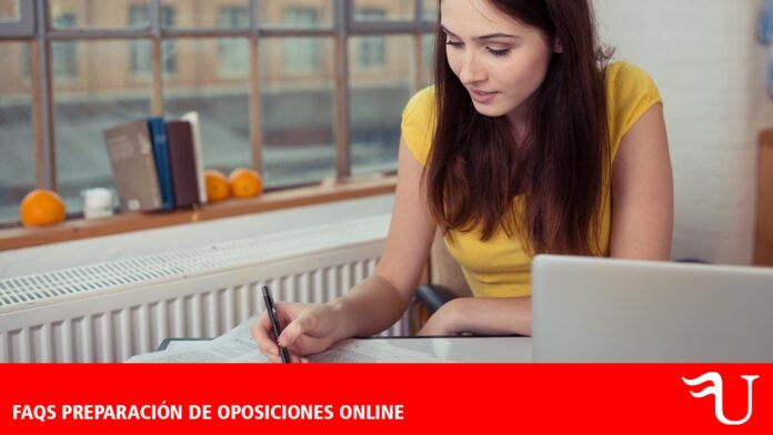 Preparación de oposiciones online