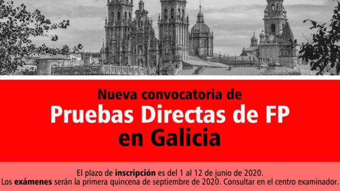 Pruebas dirctas FP Galicia 2020
