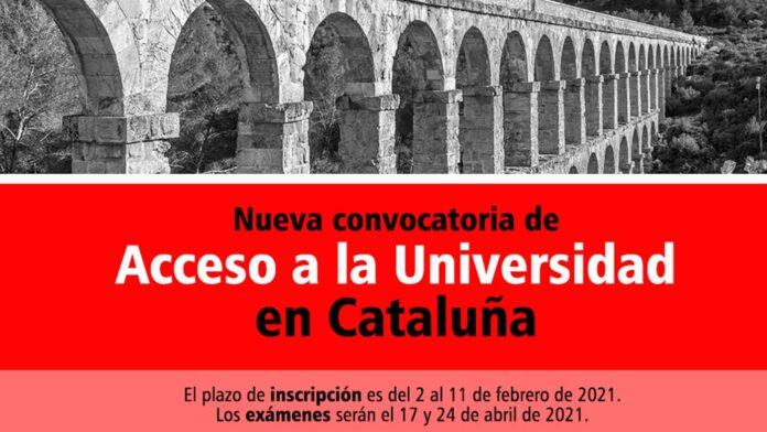 Universidad Cataluña 2021