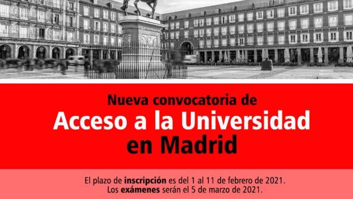 Universidad Madrid 2021